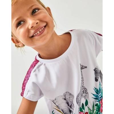 Camiseta estampada Safari